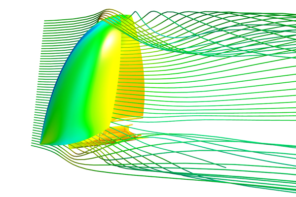 Yacht CFD