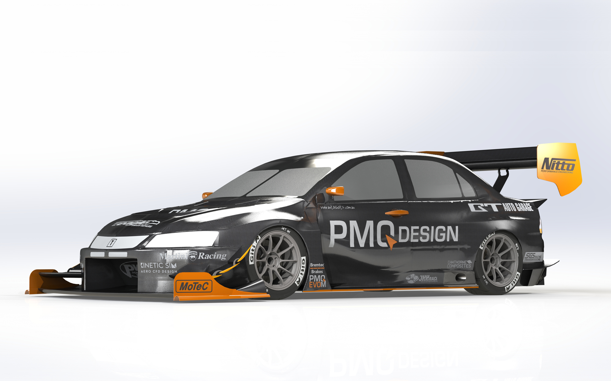 PMQ Design Evo M T1 Aero Upgrade